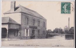 SAINT-ERME (Aisne) - Café De La Gare Georges-Sirot - France