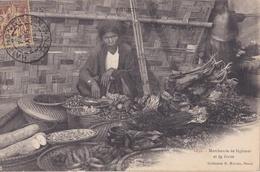 TONKIN VIETNAM INDOCHINE   : Marchande De Légumes Et De Fruits Oblitération De Haiphong De 1904 - Viêt-Nam
