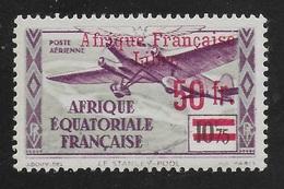AFRIQUE EQUATORIALE FRANCAISE - AEF - A.E.F. - 1940 - YT PA 21** VARIETE - Unused Stamps