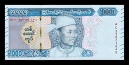 Myanmar 1000 Kyats 2019 (2020) Pick New SC UNC - Myanmar