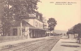 J33 - 70 - HÉRICOURT - Haute-Saône - Intérieur De La Gare - Altri Comuni