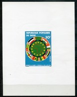 Benin Mi# 177 Press Release Postfrisch MNH - African Union - Benin - Dahomey (1960-...)