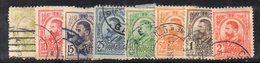 APR3038 - ROMANIA 1907 , Serie Yvert N. 207/214  Usata (2380A) - Usati
