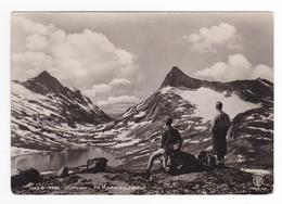 NORGE Norvège Norway N°3244 Jotunheimen Fra Ornefjell Mot Falketind Eberh B. Oppi Kunstforlag - Norvegia