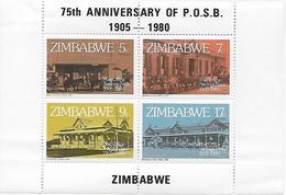 ANNIVERSAIRE DE POSB - BLOC - Zimbabwe (1980-...)