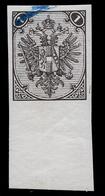 BOSNIA-AUSTRIA, IMPERFORATED PROOF PRINT STAMP Of 1 Kr 1879 RARE!!!!!!!!! - Unused Stamps