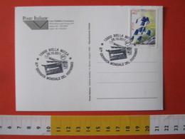 A.10 ITALIA ANNULLO - 2011 BIELLA GIORNATA MONDIALE RISPARMIO CARD POSTEPAY MONETA ELETTRONICA CARD CAMBIO VALUTE - Monete