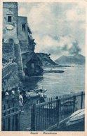 CT-03320- NAPOLI - MARECHIARO MOLTO ANIMATA BARCHE- AGOSTO 1943-DA VILLA LITERNO A VIGEVANO - Napoli