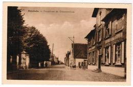 Hansbeke, Dorpstraat En Gemeentehuis (pk67142) - Nevele