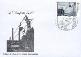 Luxembourg  -  FDC  -  24.3.2018  -  Cercle Philatélique Rodange - FDC