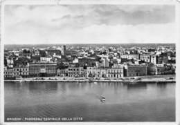 "6497 "" BRINDISI-PANORAMA CENTRALE DELLA CITTA' "" - CART. POST. ORIG. SPEDITA 1954 - Brindisi"