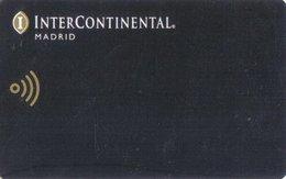SPAGNA  KEY HOTEL  InterContinental Madrid - Chiavi Elettroniche Di Alberghi
