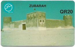 Qatar - Q-Tel - Autelca - Definitive Issue - Zubarah, 1994, 20QR, Used - Qatar