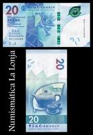 Hong Kong 20 Dollars Bank Of China 2018 (2019) Pick New SC UNC - Hong Kong