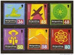 Guernsey Guernesey  2010 Yvertn° 1310-15 *** MNH Cote 12 € Girlguiding Centenary - Guernsey