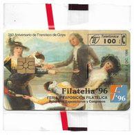 Spain - Telefónica - Filatelia '96 - Goya - P-230 - 12.1996, 100PTA, 6.000ex, NSB - España