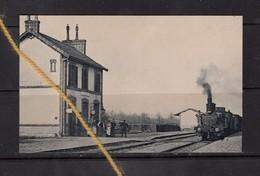 DAMVILLE ? BOISSY LE SEC ? 28 EURE ET LOIR GARE TRAIN VAPEUR - Trains
