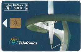 Spain - Telefonica - Torre Calatrava - P-341 - 06.1998, 5.000ex, Used - España