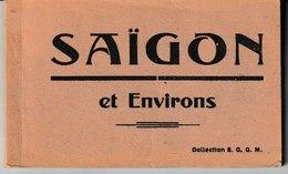 Viet-Nam SAIGON Et Environs Carnet De 20 Cartes - Viêt-Nam