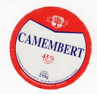 Fev20   56008     étiquette  Camembert   Morbihan - Formaggio