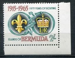 Bermuda Mi# 187 Postfrisch MNH - Scouts - Bermuda