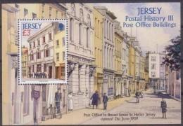 Jersey 2009 Yvertn° Bloc 96 *** MNH Cote 13 Euro Post Office Buildings - Jersey