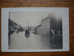 Wepion Carte Photo Inondations 1910 - Namur