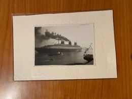 PHOTO ORIGINALE - PAQUEBOT LE  NORMANDIE  ( Port Offert ) - Boats