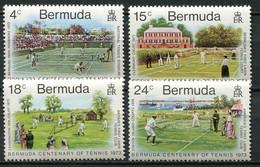 Bermuda Mi# 293-6 Postfrisch MNH - Sports Tennis - Bermuda