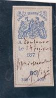 T.F. Effets De Commerce N°200 - Revenue Stamps