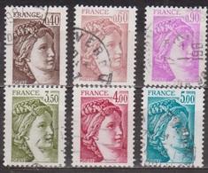 Sabine Du Peintre Louis David - FRANCE - Série Complète - N° 2118 à 2123 - 1981 - Used Stamps