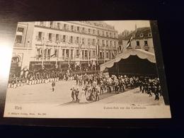 Cpa Metz  Kaiser Zelt Vor Der Cathédrale - Metz