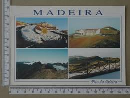 PORTUGAL - PICO DO AREEIRO -  MADEIRA -   2 SCANS     - (Nº33579) - Madeira