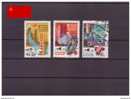 URSS 1964 - Oblitéré - Chimie - Michel Nr. 2872-2874 Série Complète (urs1337) - 1923-1991 UdSSR