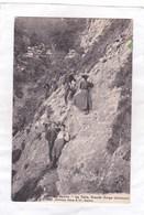 CPA :  14 X 9  -   Au  Salève  -  La  Dalle, Grande Gorge Intérieure - Autres Communes