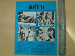 PUBLICITE CINEMATOGRAPHIQUE MANHATTAN - Cinema Advertisement