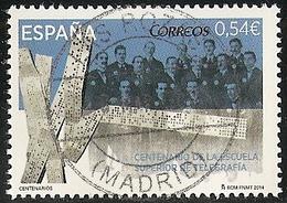 2014-ED. 4866 -COMPLETA-Centenario Escuela Superior Telegrafía-USADO - 2011-... Afgestempeld