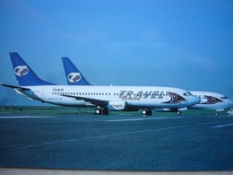 Avion / Airplane / TRAVEL / Boeing B737-400 - 800 / Airline Issue - 1946-....: Era Moderna