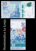 Hong Kong 20 Dollars Standard Chartered Bank 2018 (2019) Pick New SC UNC - Hong Kong
