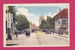 58 - COSNE SUR LOIRE - La Rue St Agnan - Cosne Cours Sur Loire