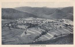 SCHAEFERHOF - MOSELLE - (57) - PEU COURANTE CPA. . - Altri Comuni