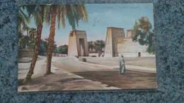 CPA -  4  - KARNAK -  VUE  A KARNAK   ( EGYPTE ) - Cartes Postales