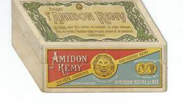 Superbe Calendrier Amidon REMY à Système 1903 - RARE - Calendriers