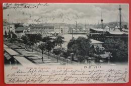 PULA - POLA , PARTHIE DES KRIEGSHAFENS 1902 - Croazia