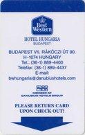 UNGHERIA KEY HOTEL  Best Western Hotel Hungaria Budapest - Hotelkarten