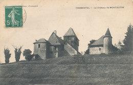 FROMENTAL Le Chateau De MONTAUTRE - France