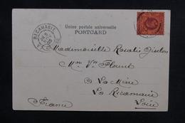 HONG KONG - Affranchissement Plaisant En 1903 Sur Carte Postale Pour La France - L 51959 - Hong Kong (...-1997)