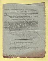 Enregistrement Et Domaines - 5 Vendemiaire An 14 - Restitution Des Biens Aux Eglises Paroissiales - Documents Historiques