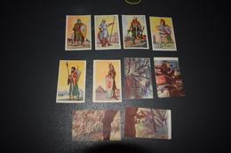 Chocolat Aiglon 10 Congo Belge Costumes Militaires N° 503 - 509 - 518 - 527 - 181 - 183 - 185 - 92 - 193 - 196 - Aiglon