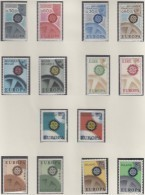 EUROPA CEPT 1967, Postfrisch **, Gemeinschaftsausgaben Komplett, 39 Marken, Zahnräder - Europa-CEPT